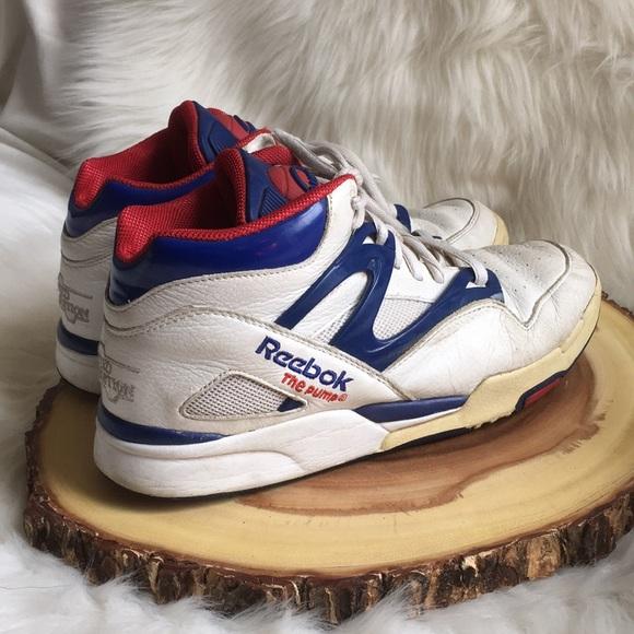 reebok pump basketball shoes